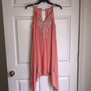 Peach Dress from Francesca's